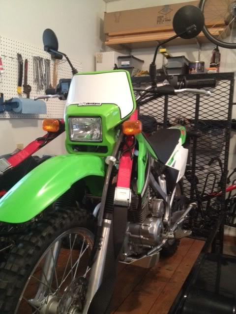 Admirable Successful Klx 140L Sb5800 Conversion Adventure Rider Machost Co Dining Chair Design Ideas Machostcouk
