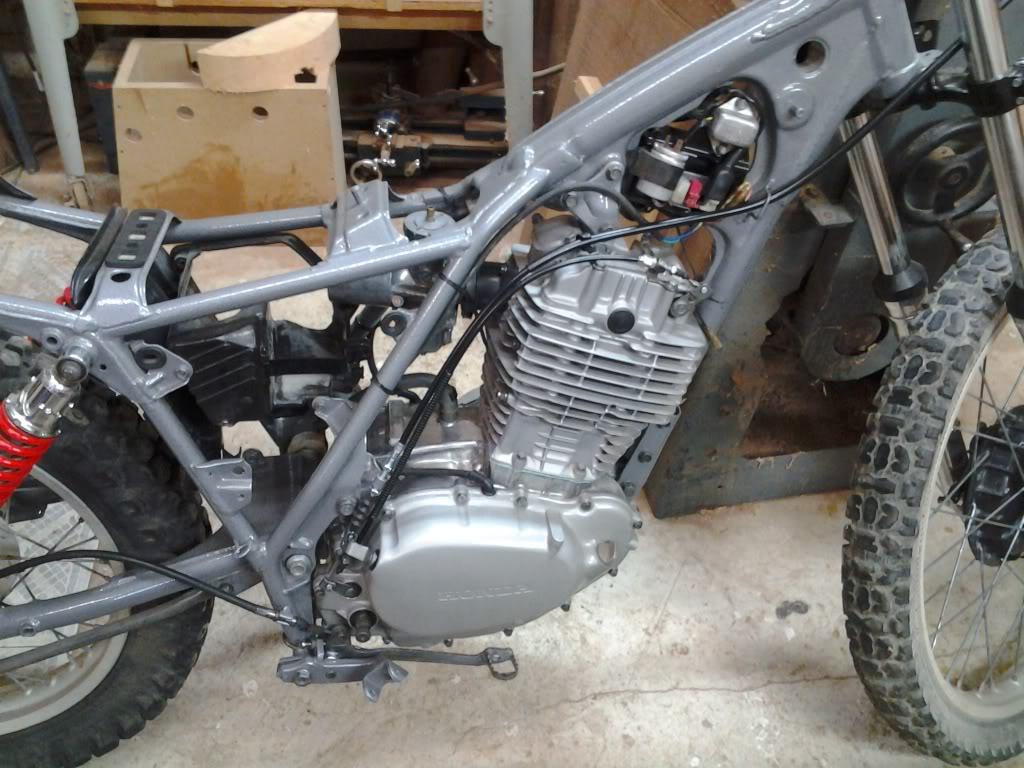 1980 xl500s, a top end job turned restoration | Adventure Rider on