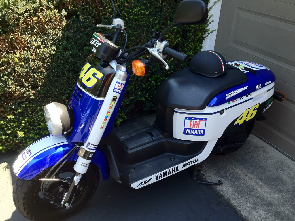 Yamaha C3 build | Adventure Rider