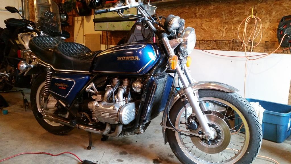 77 Goldwing Carbs   Adventure Rider