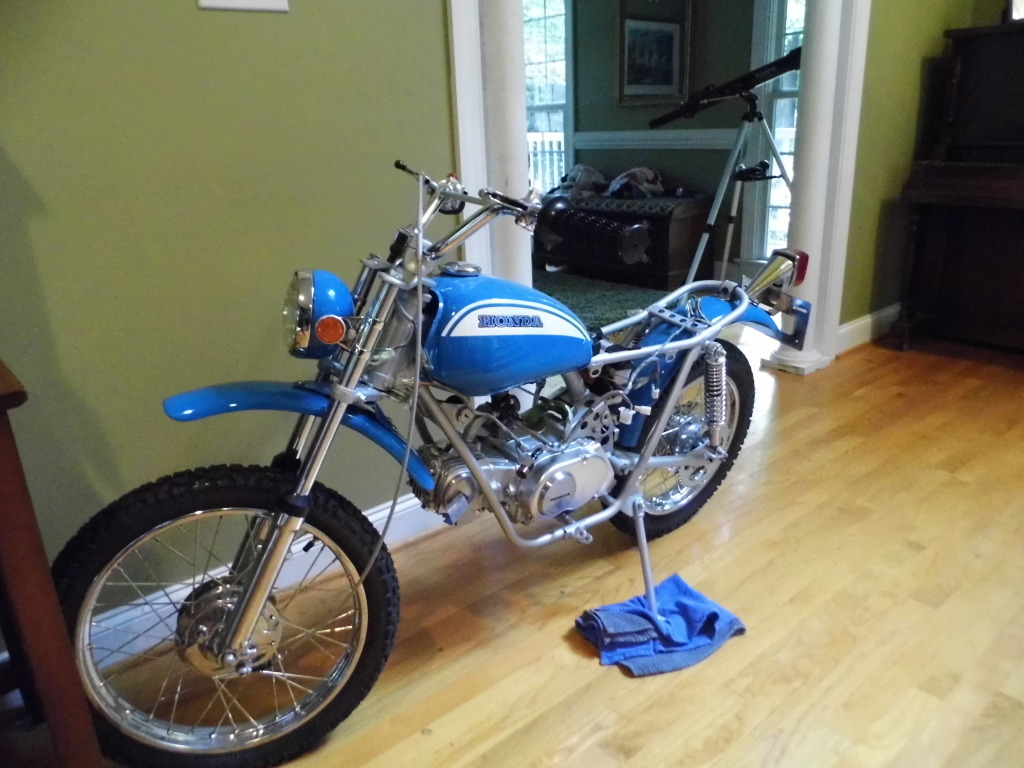 1971 honda sl70 technically its a thumper and could use some rh advrider com