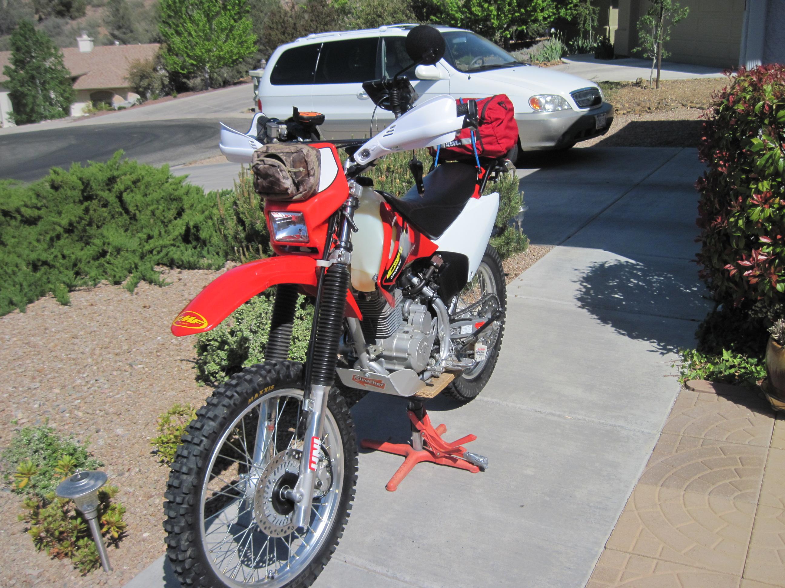 Honda CRF230F maybe under rated   Adventure Rider