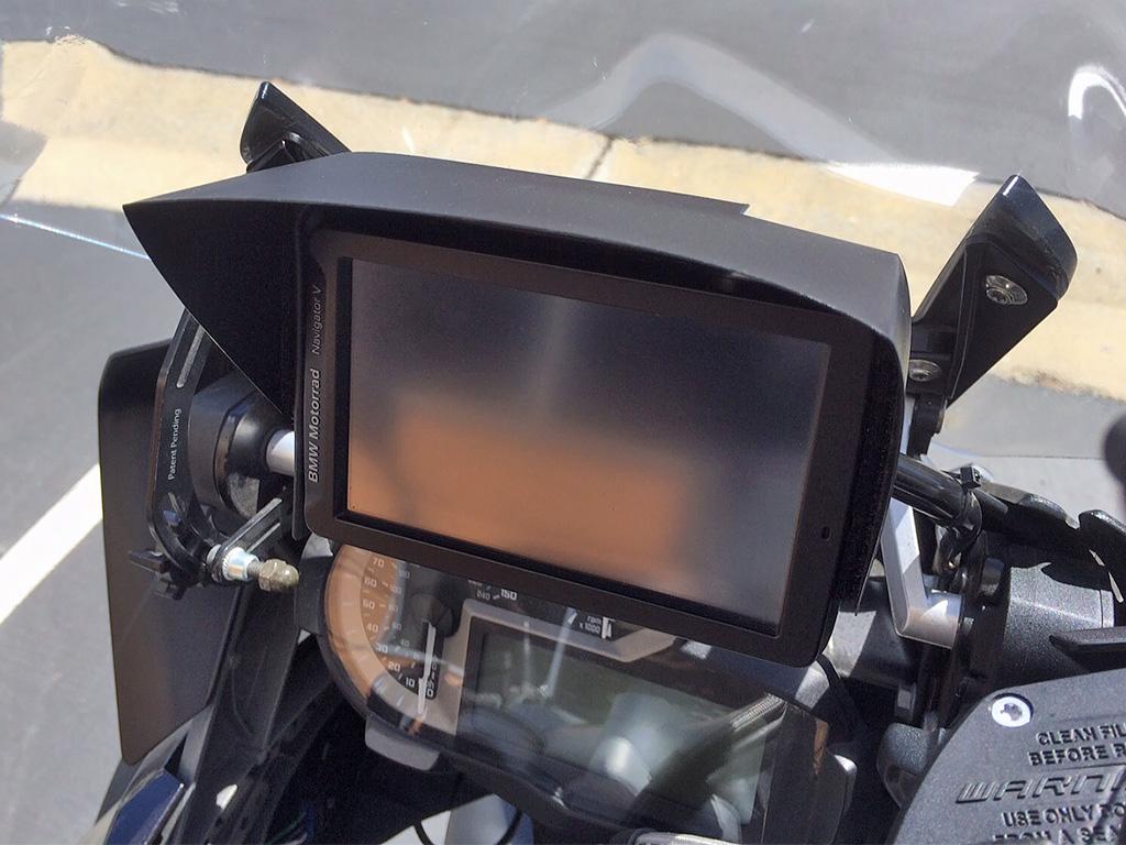 Navigator V sun shield | Adventure Rider