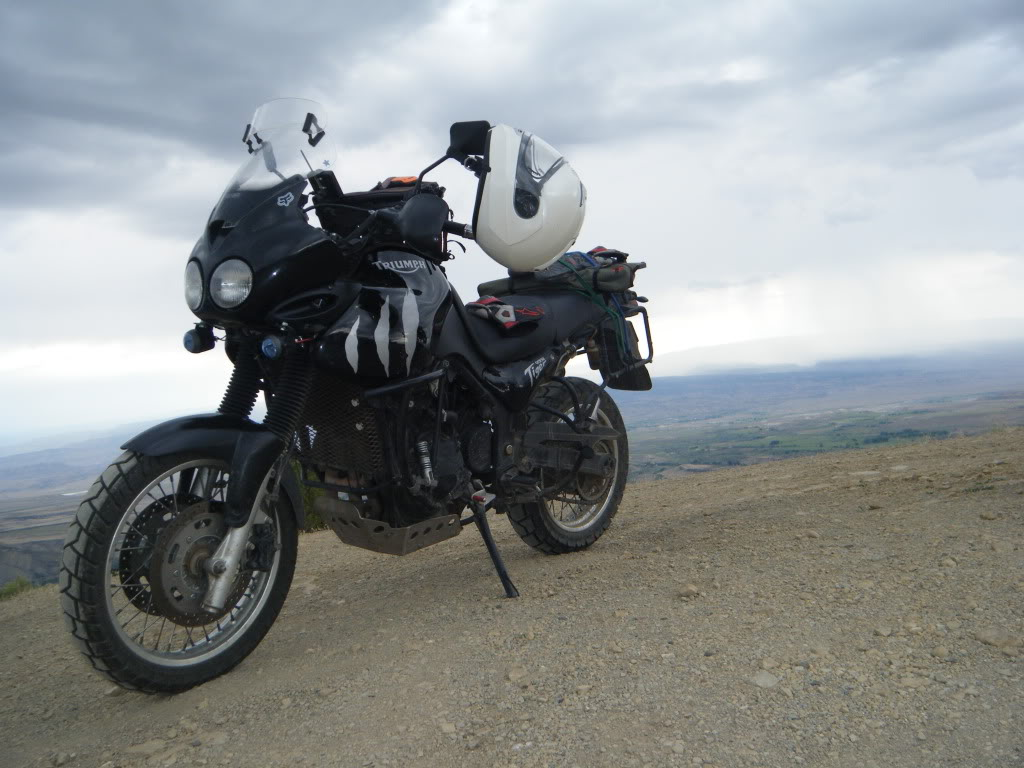 Tiger 955i Offroad Tell Me What You Have Done Adventure Rider