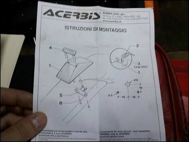 Acerbis Mollsoft Install for xr650L Help! | Adventure Rider Adventure Rider