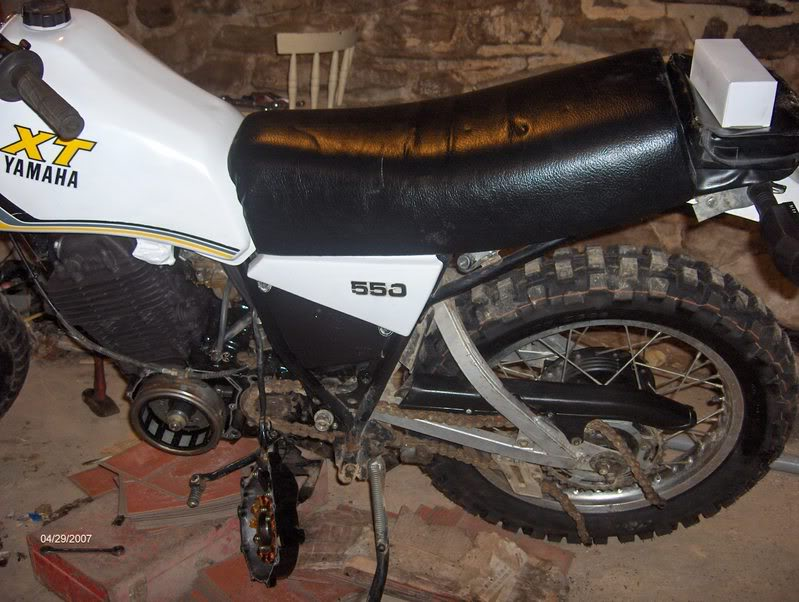 The XT550 Thread: Info, Stories and Mods Inside! | Adventure