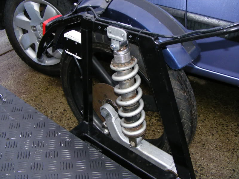Swing arm suspension | Adventure Rider