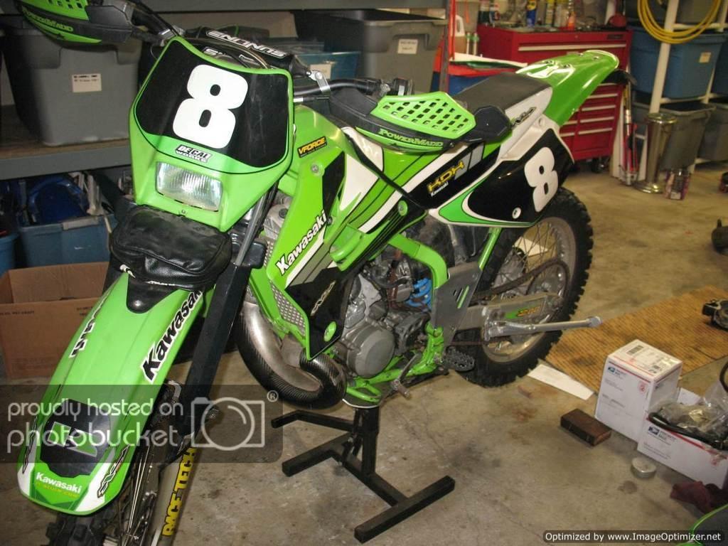 99 kdx220 or 01 ktm200?   Adventure Rider