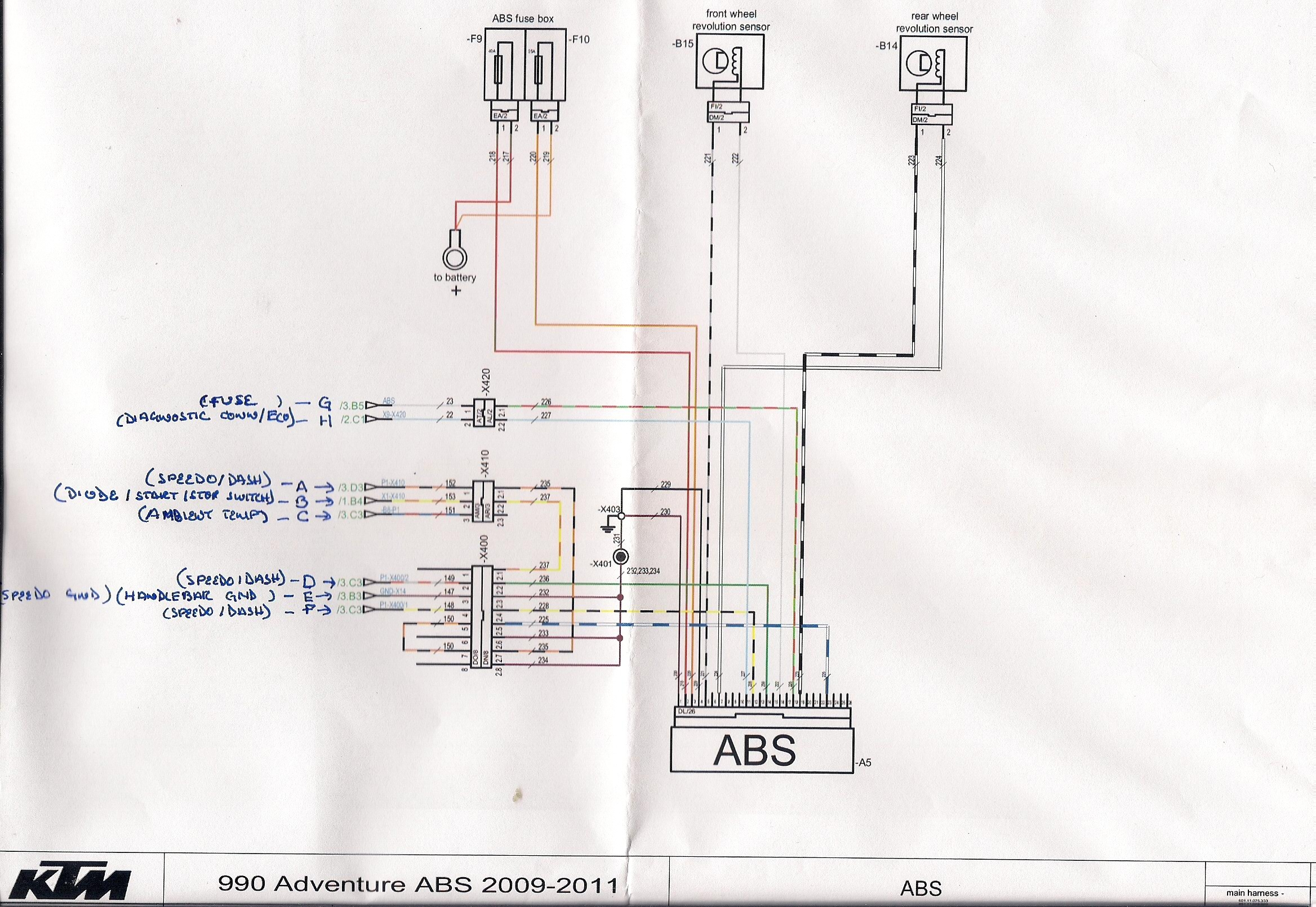Ktm 990 Wiring Diagram | Wiring Diagram Ktm Adventure Wiring Diagram on
