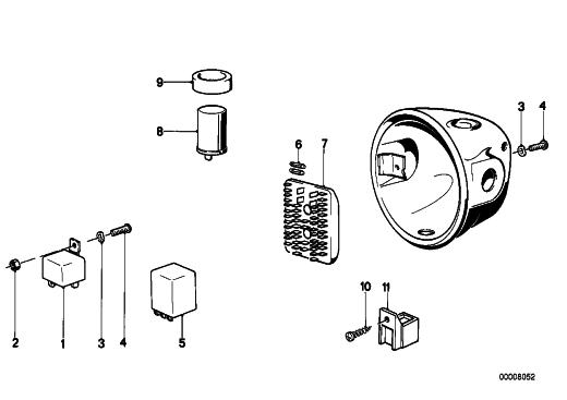 Help with R90/6 headlight wiring. | Adventure Rider R Wiring Diagram on