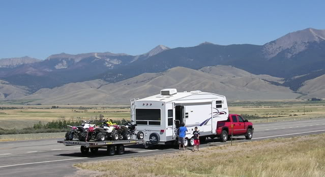 Pulling Doubles With A Camper Adventure Rider