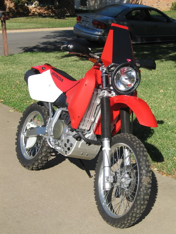 Doing it the hard way!!XR650R D/S Upgrades | Adventure Rider