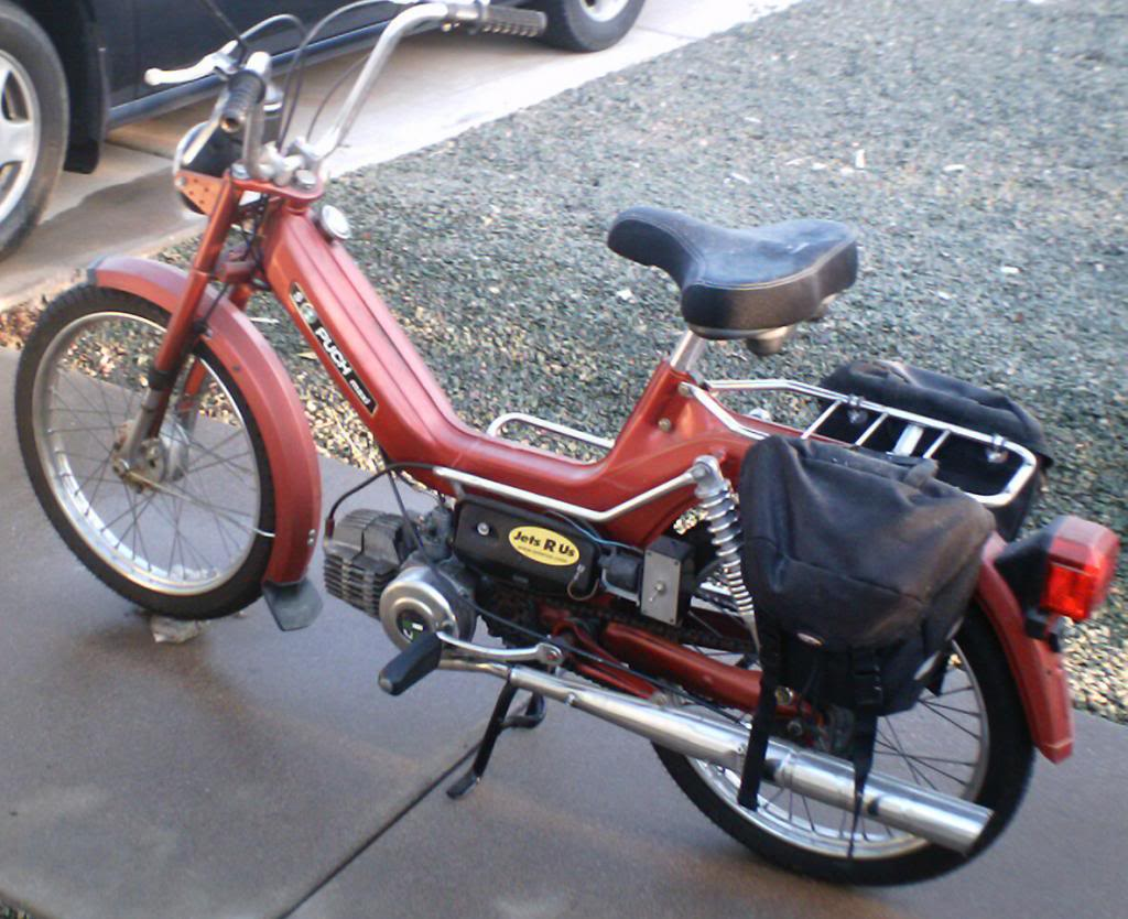 Forde's Puch Maxi Project Thread! <Moped Content