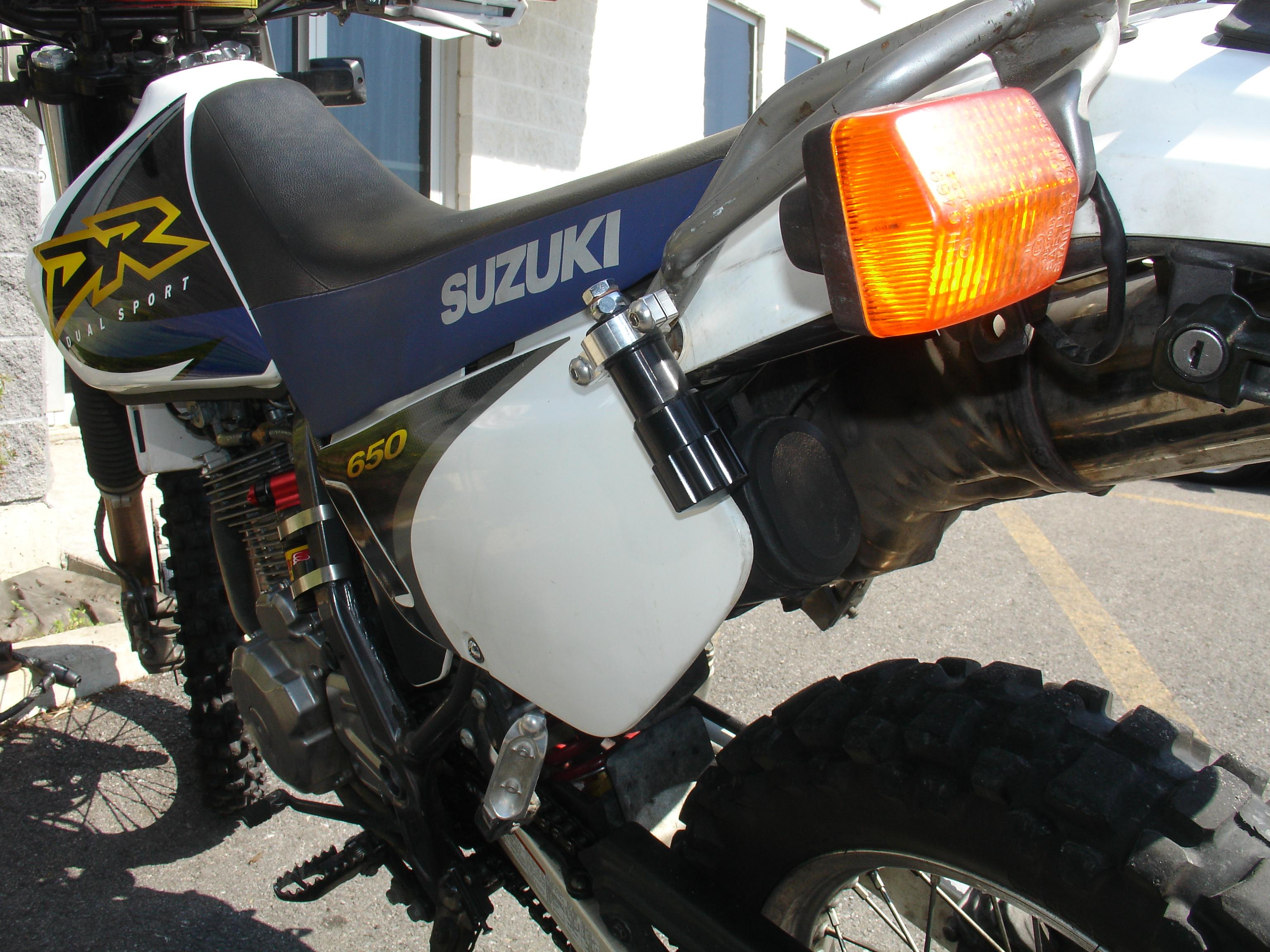 SV Racing Parts, Elka Shock Group Buy on DR650 Rear Shocks