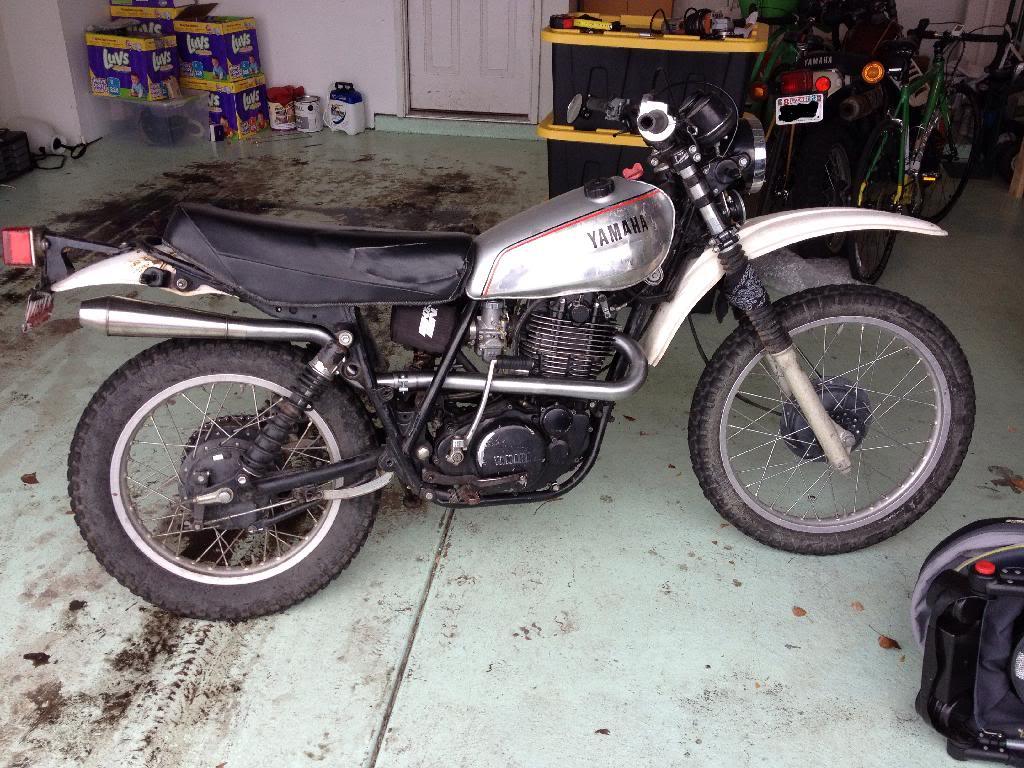 Teledan's XT500 | Adventure Rider on