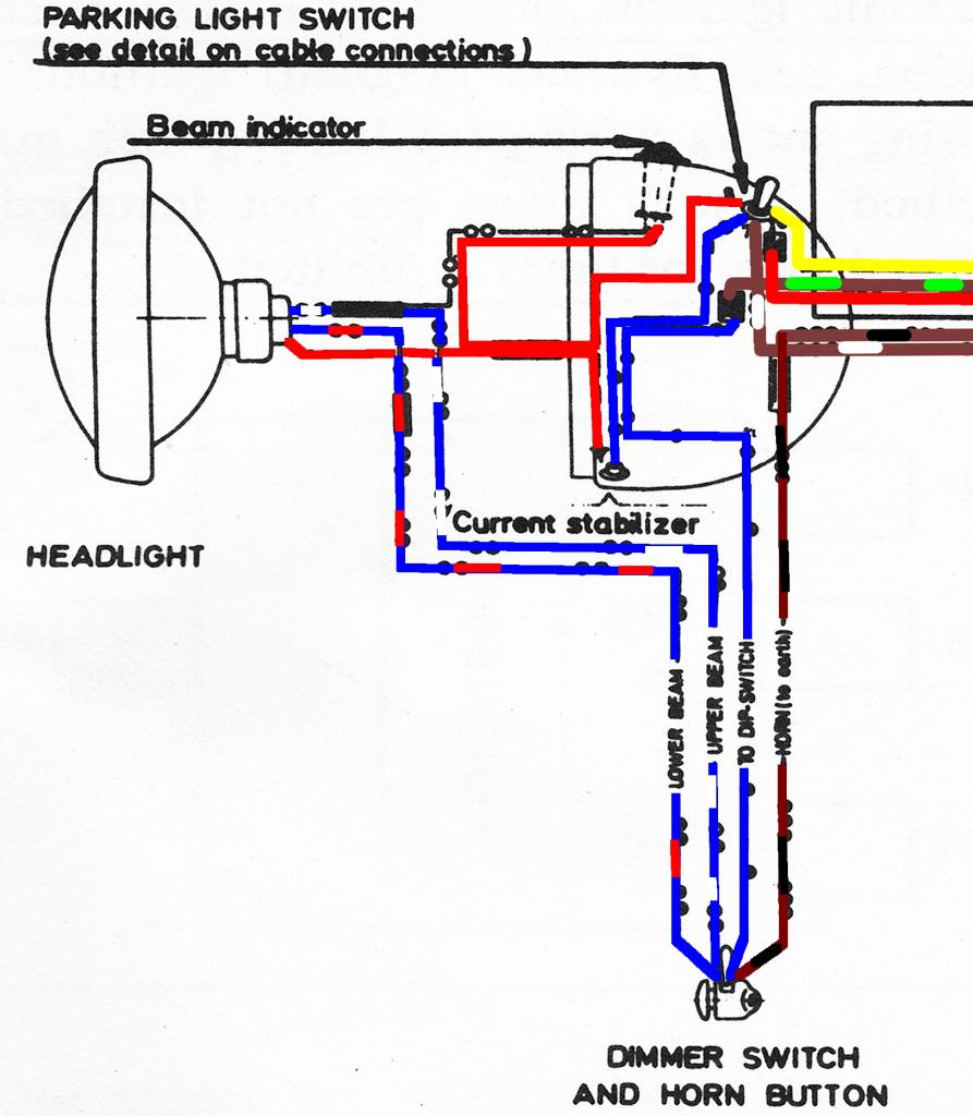 bultaco restoration project \u2013 electrical gurus\u2026 please look Bultaco Alpina Wiring-Diagram