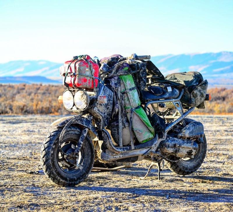 Adirondack Honda Ruckus Adventure riding? | Adventure Rider