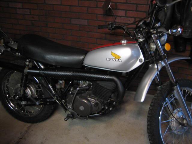 1980 XT500 Backfires | Adventure Rider