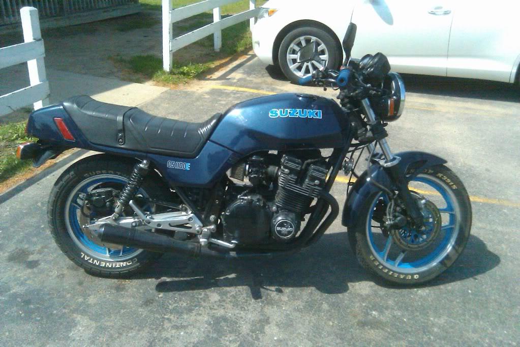 1983 Suzuki gs1100e should I do it?   Adventure Rider