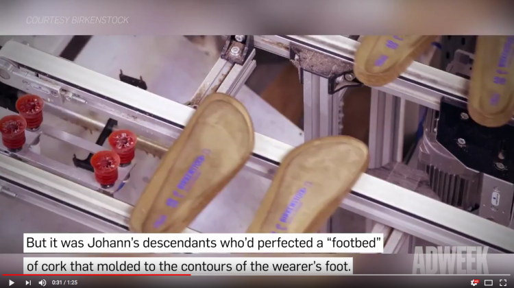 84cd2ff0bf3e Not until the 1960s did Birkenstock begin making sandals—specifically