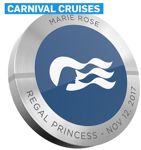 Carnival Cruises medallion that tracks travelers' locations