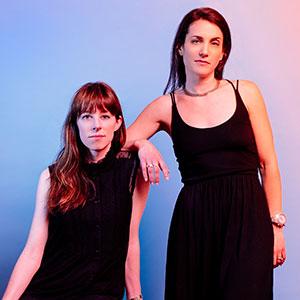 Photo of Christine Lane and Deb Archambault