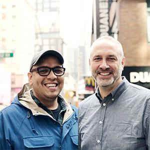 Photo of Paul Bichler and Daniel Lobaton
