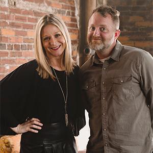 Photo of Nicole Michels McDonagh and Shawn Herron