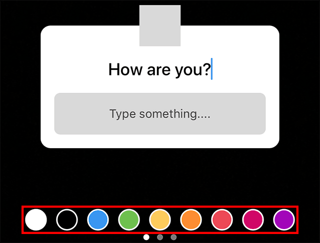 The color options for text are highlighted.
