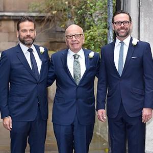 Photo of 11. Rupert Murdoch, James Murdoch and Lachlan Murdoch
