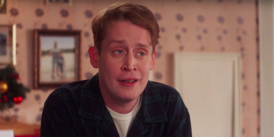 Macaulay Culkin in Google Home ad