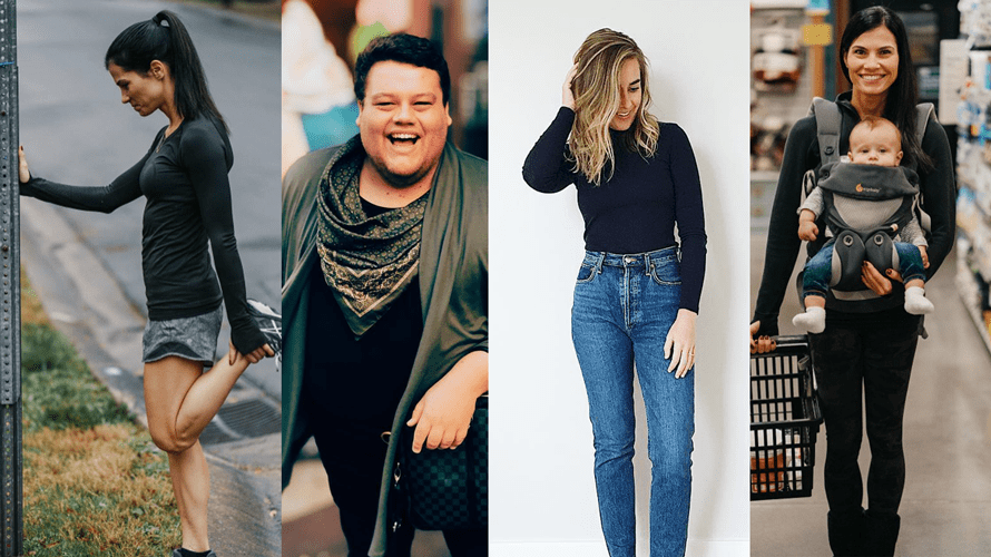 (From left) Influencers Jen Eddins, JC Phelps and Kelsey Johnston are part of Bailey Lauerman