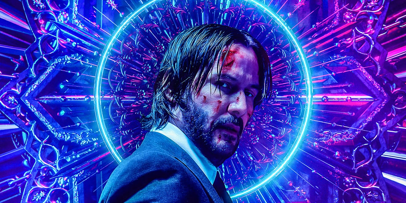 Movie poster for John Wick 3 by Billy Bogiatzoglou