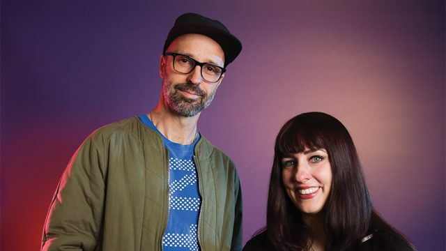 Photo of Rachel Frederick and Kevin Brady