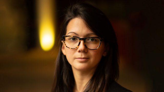 Headshot of Daniella Zalcman, founder of Women Photograph, for Adweek's Creative 100