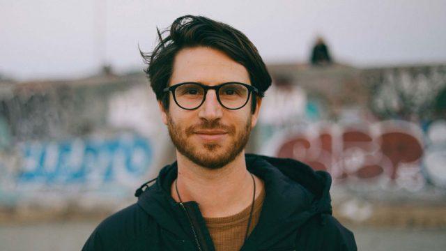 Headshot of digital artist and filmmaker Ivan Kash for Adweek's Creative 100
