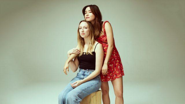 Photo of Anna Konkle and Maya Erskine