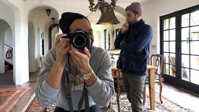 Photo of Dan Lindsay and T.J. Martin