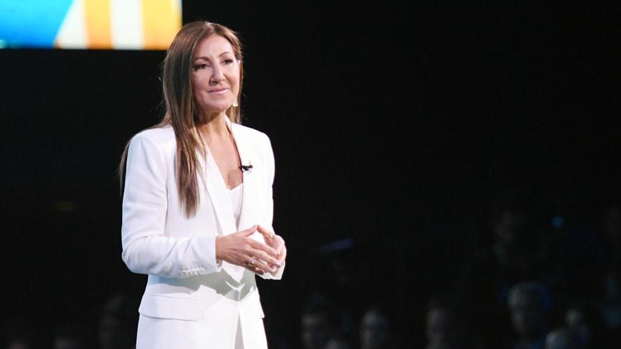 Donna Speciale on WarnerMedia stage