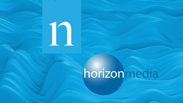 nielsen and horizon media logos