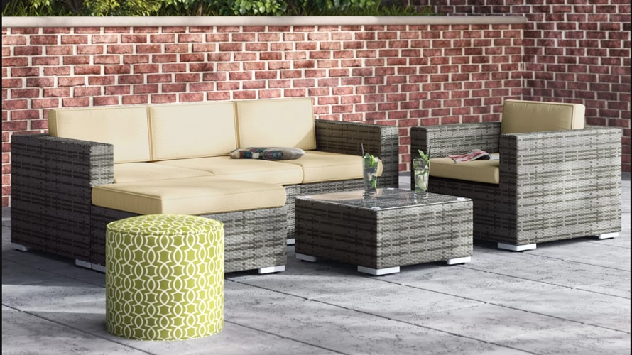 Wayfair outdoor furniture set