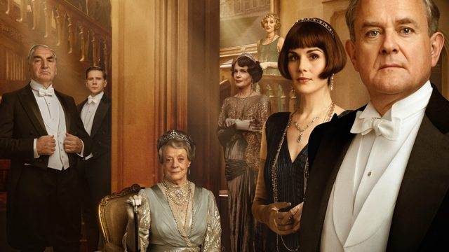Downtown Abbey promotional photo