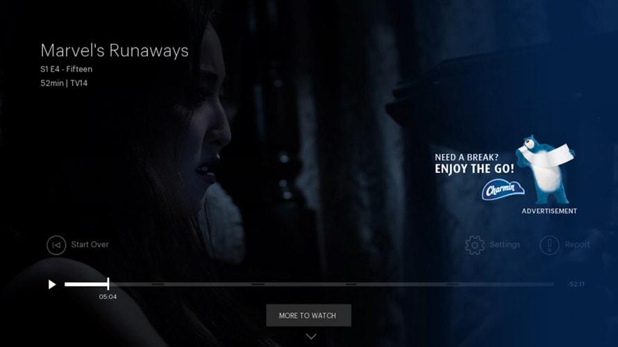hulu pause ad format streaming advertising