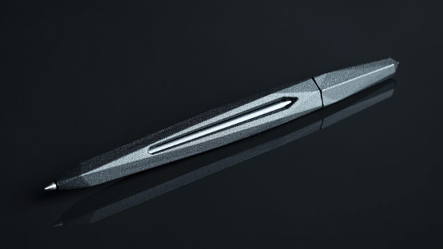 pen with ink produced from carbon dioxide, from Helsingin Sanomat