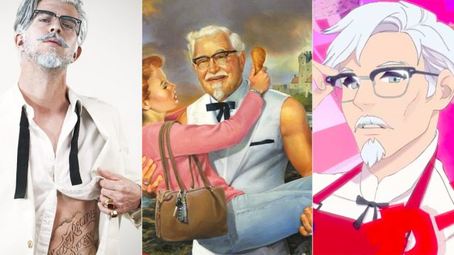 sexy colonel sanders ad campaigns kfc