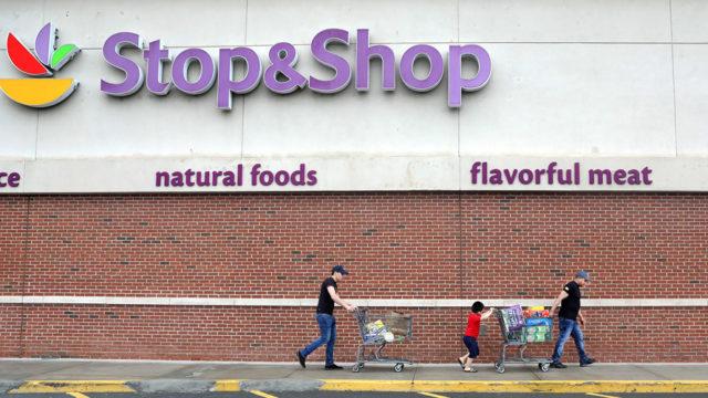 Stop & Shop signage