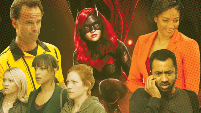 Collage of fall shows from CBS, Fox, ABC, NBC and The CW
