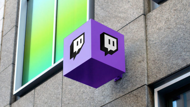 Twitch signage