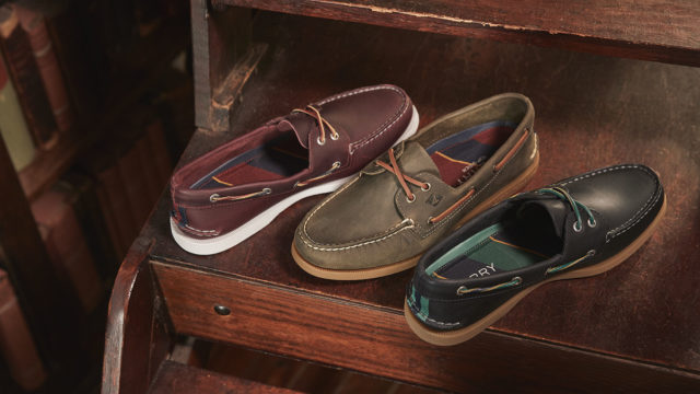 The classic boat shoe didn
