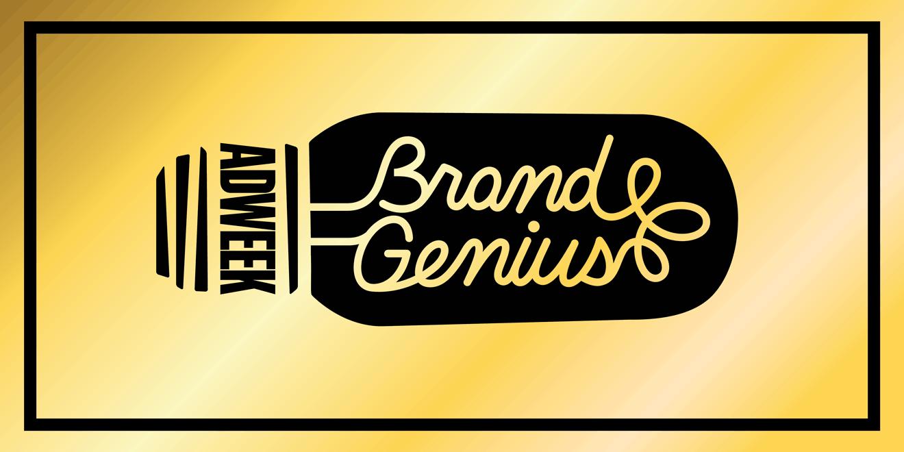 Adweek Brand Genius logo